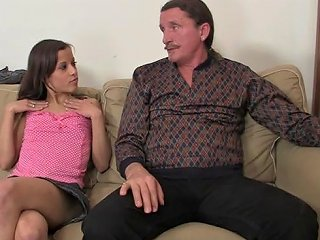 Naughty Girl Have Oral Fun With Her Bf's Parents Porn 8b