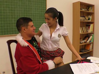 Schoolgirl With Big Tits Darcia Lee Seduces A Guy And Gets Fucked