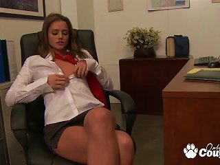 Lili Labean And Tori Black Getting Kinky At School Desktop